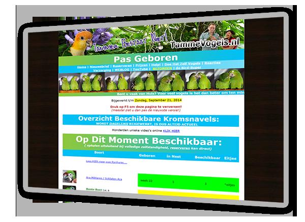 tammevogels.nl